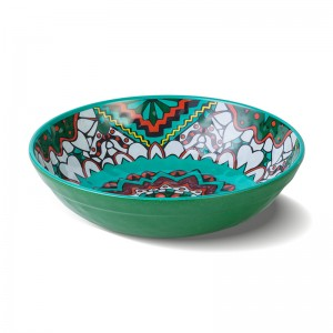 GBF690 Boho Green Bowl