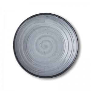 GZ1083 Zen Grey Plate