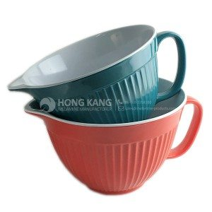 melamine bowl with handle