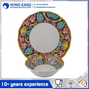 New Design Melamine Dinnerware Set