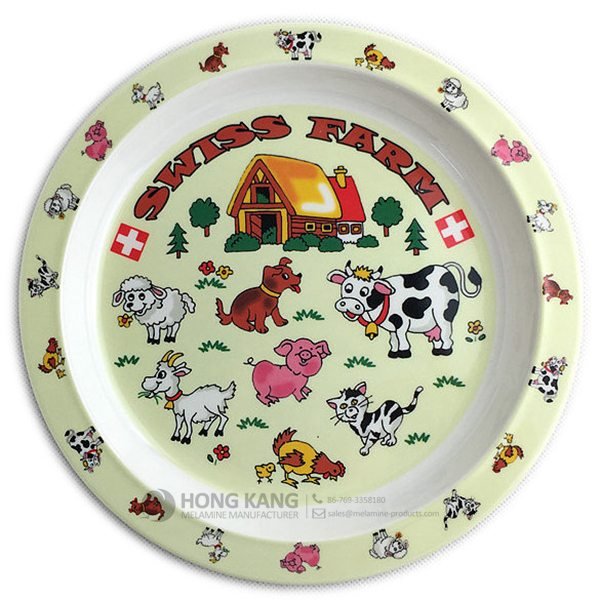 melamine kids plate Featured Image