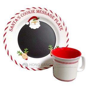 christmas melamine dinnerware