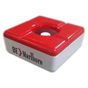 Square melamine Gift ashtray