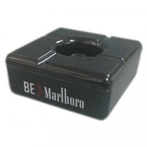 Square melamine Promotional ashtray
