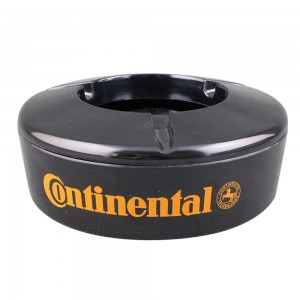Round melamine windproof ashtray