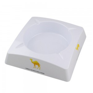Large Square Melamine Ashtray