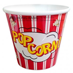 Medium melamine pocorn bucket