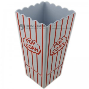 Tall Square melamine popcorn bucket