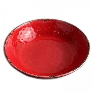 Melamine Crackle Bowl