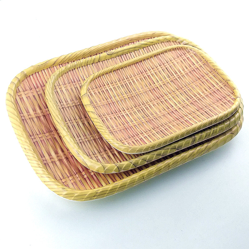 New Woven Rattan Melamine Dinnerware manufacturers, China Melamine Dinnerware