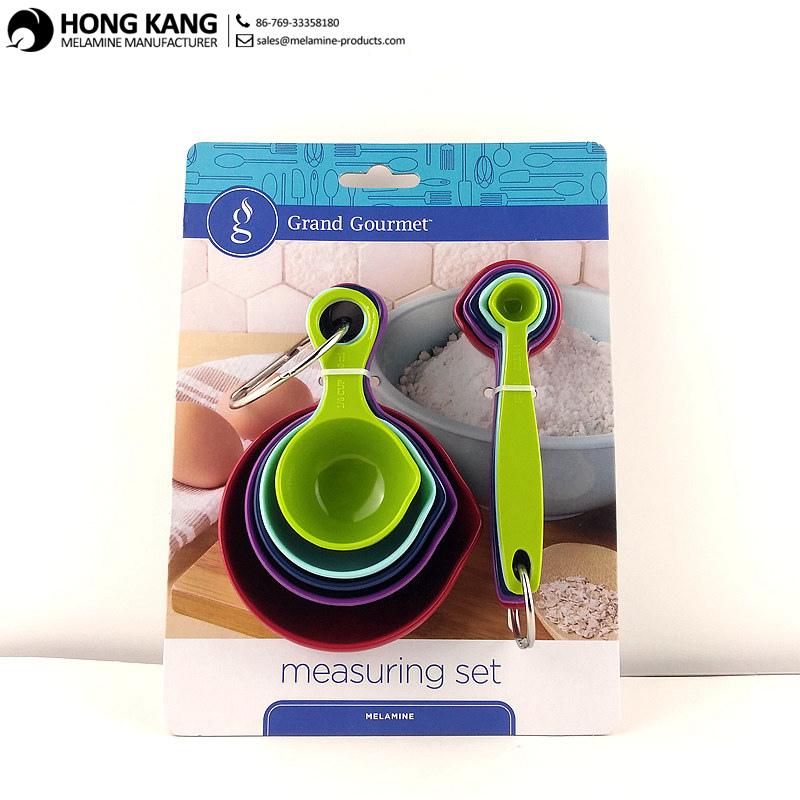 New Design Packaging for Melamine Measuring Spoon Set