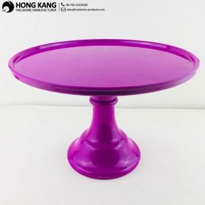 Purple Melamine Cake Stand