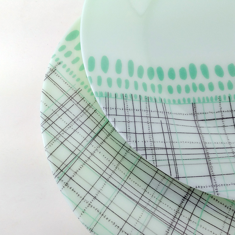 Jade melamine dinnerware-5
