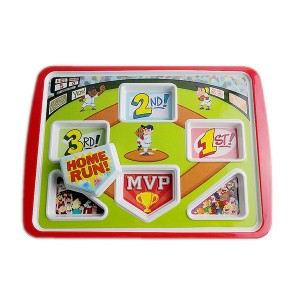 13inch Melamine Divided Children Meal Plate Manufacturer in China