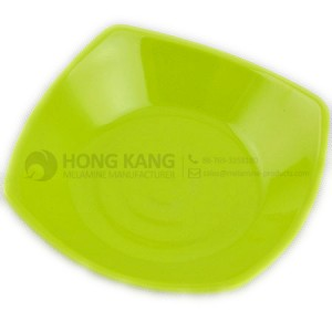 6.75inch Square melamine plate