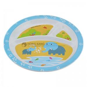 Melamine Children Divided Plate