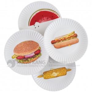 Melamine Breakfast Plate