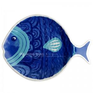 melamine fish plate