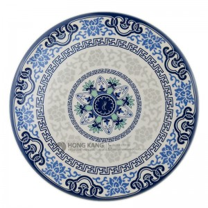 6.75inch melamine coaster placemat