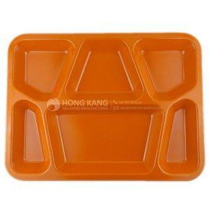 melamine divided tray