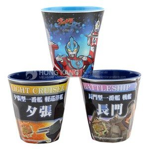 melamine two tone cups