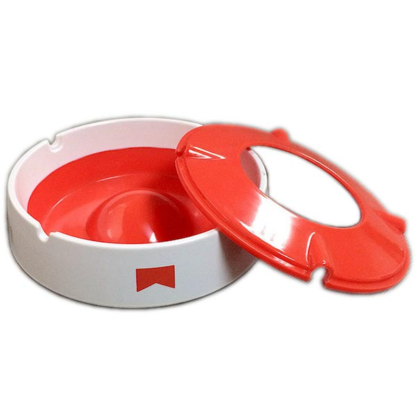 Round Windproof Melamine Ashtray